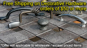 Free Shipping On Decorative Hardware
