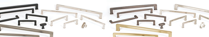 Subtle Surge Decorative Hardware by Berenson