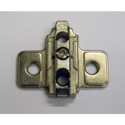 TOPsafe System 4000 2 Piece, Zinc, Screw-on wing mounting plate.