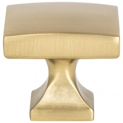 Epoch Edge Knob (Modern Brushed Gold) - 1 3/8""