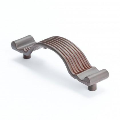 "American Revival Pull (Bronze W/Rust Glaze) - 3 5/16"""