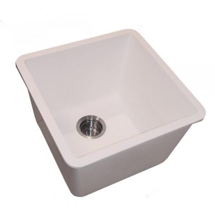 Deep Utility Kitchen Sink Bisque Gemstone Part 1616 Es Bq