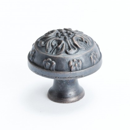 Baroque Oak Leaf Knob (Verona Bronze) - 1 1/4""