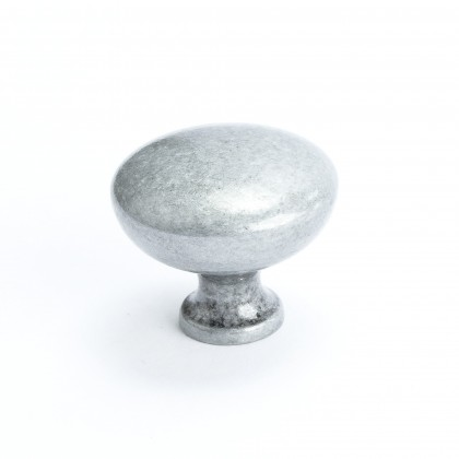 American Mission Knob (Antique Pewter) - 1 1/4""