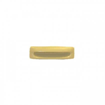 """Plastic Recessed Pull (Almond) - 4 3/8"""""""