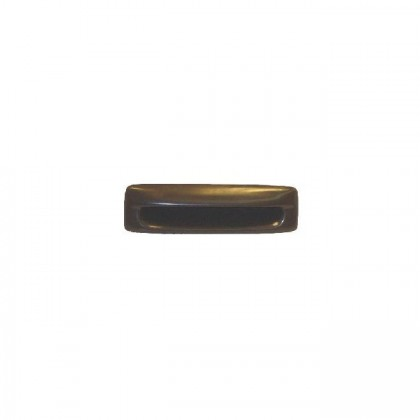 Plastic Recessed Pull (Brown) - 4 3/8""