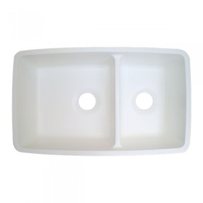 Contoured Large/Small Double Bowl Kitchen Sink (Gemstone), Part ...