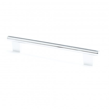 Euroline Round Bar Pull (Polished Chrome) - 192mm