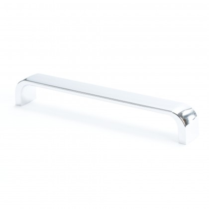 Euroline Flat Bar Pull (Polished Chrome) - 160mm