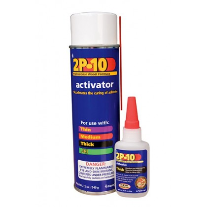 2P-10 Solo Adhesive Kit - 12 Oz, 2 Oz