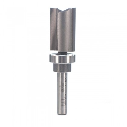 "5/8""D x 1""CL Template Bit w/Ball Bear Guide"