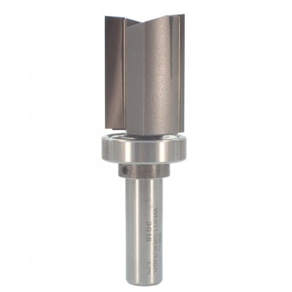 "1 1/8""D x 1 1/2""CL Template Bit w/Ball Bear Guide"