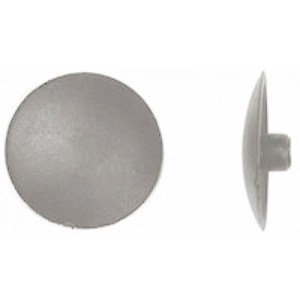 "#2 x 1/2""dia Cover Cap, Phillips Drive, Light Gray"