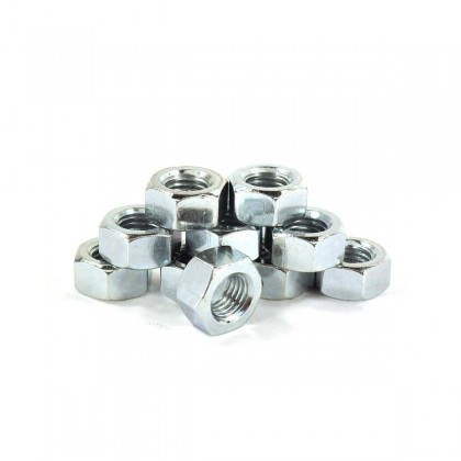 """1/2"""" Hex Nuts - 10 pc. pack"""
