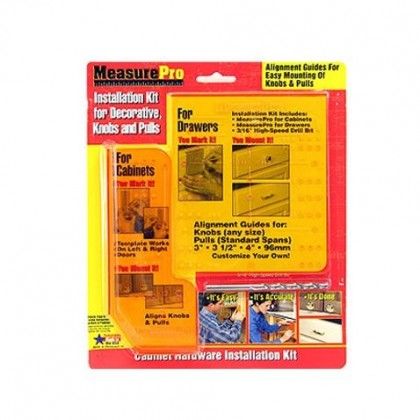 Door and Drawer Mounting Template Kit