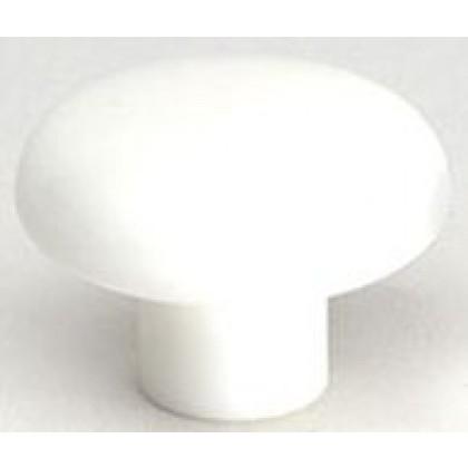 """Rio Knob (White Polypropylene) - 1 1/2"""""""