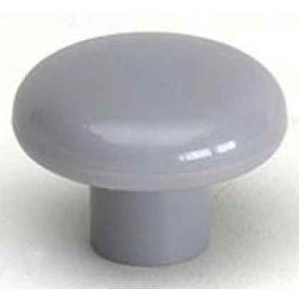 Rio Knob (Dark Gray Polypropylene) - 1 1/2""