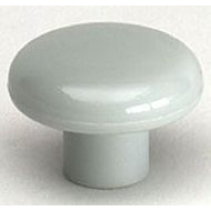 Rio Knob (Light Gray Polypropylene) - 1 1/2""