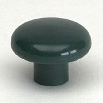 Rio Knob (Hunter Green Polypropylene) - 1 1/2""