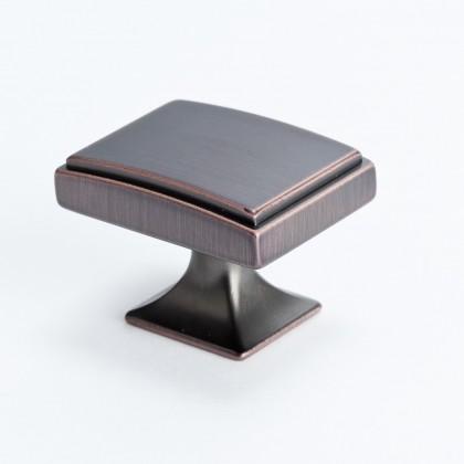 "Hearthstone Knob (Verona Bronze) - 1 9/16"""