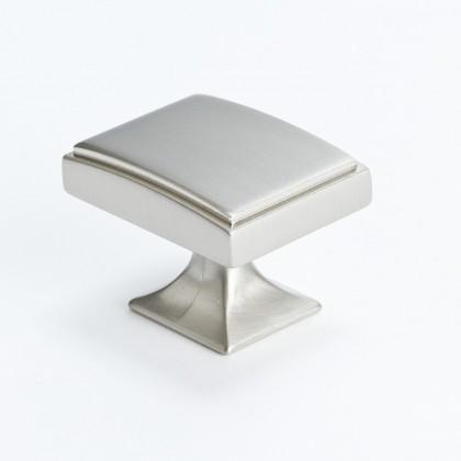 "Hearthstone Knob (Brushed Nickel) - 1 9/16"""