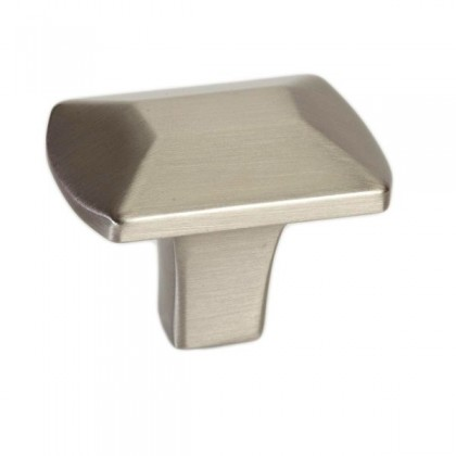 Laura Knob (Brushed Nickel) - 0.98""