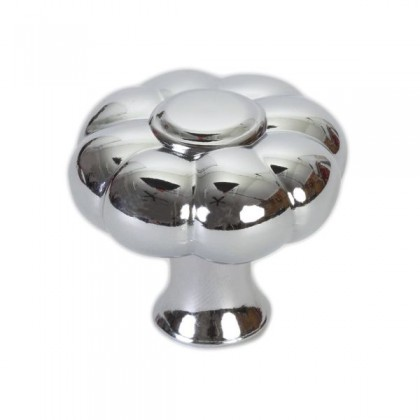 Betty Knob (Polished Chrome) - 1.36""
