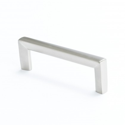 Metro Pull (Brushed Nickel) - 96mm