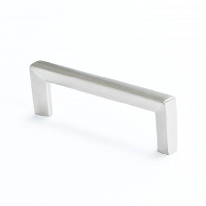 Metro Pull (Brushed Nickel) - 96mm