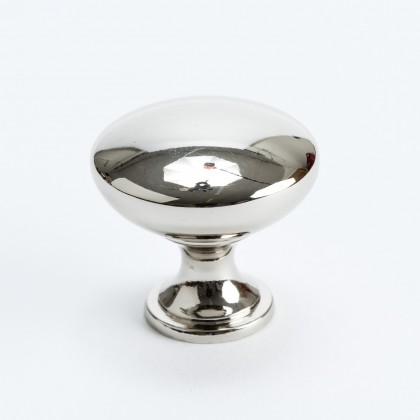 Designer Group 10 Knob (Polished Nickel) - 1-1/4""