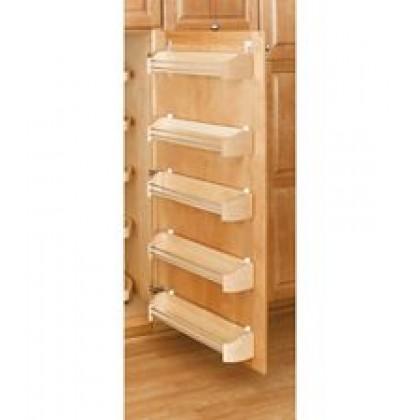 "14"" Wood Door Storage Trays W/Screw in Clips (5 Pack)"