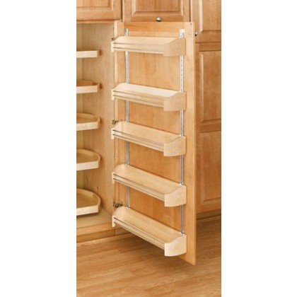 "20"" Wood Door Storage Trays W/Screw in Clips (5 Pack)"