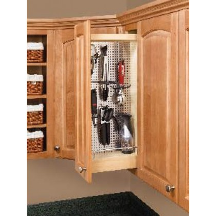 """5"""" Wall Cabinet w/Stainless Steel Panel"""