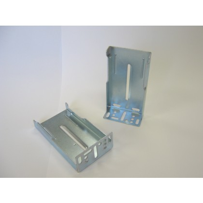 "Metal Rear Mounting Bracket - 1"" x1 7/8"" x 3 1/2"""