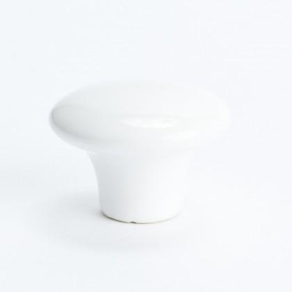 """Lexington Knob (White) - 1 1/2"""""""