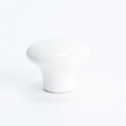 """Lexington Knob (White) - 1 1/4"""""""