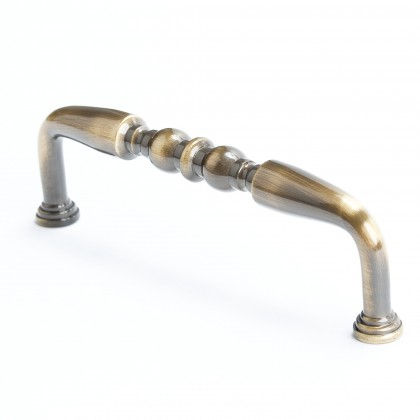 """Newport Double Bead Pull (Antique English) - 4"""""""