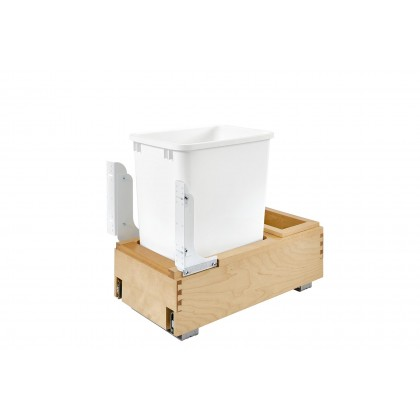 Bottom Mount Single 35Qt Waste Container