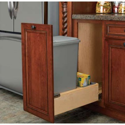 50 Qt. Waste Container w/ Rev-A-Motion