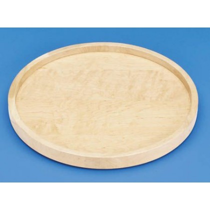 "20"" Full Circle Lazy Susan Shelf (Wood) - w/ Bearing"