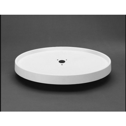 "28"" Full Circle Lazy Susan Shelf (White)"
