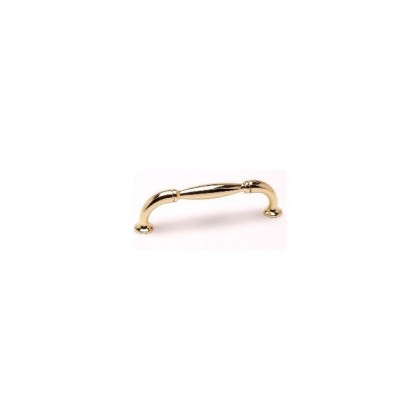 Barcelona Pull (Polished Gold) - 96mm