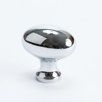 Valencia Knob (Polished Chrome) - 1 3/16""