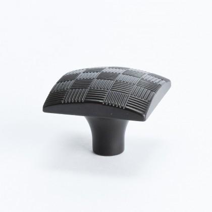 Virtuoso Square Knob (Rubbed Bronze) - 34mm
