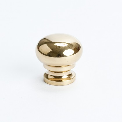 Plymouth Knob (Polished Brass) - 3/4""