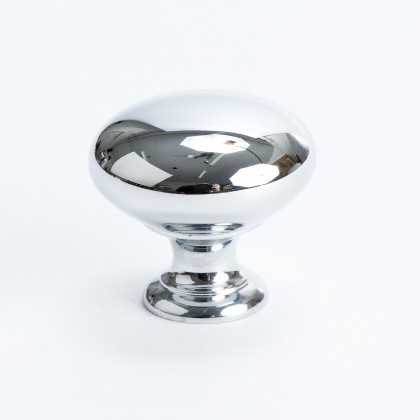 "Canterbury Knob (Polished Chrome) - 1 1/4"""