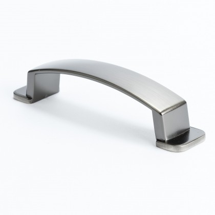 Oasis Pull (Brushed Tin) - 96mm