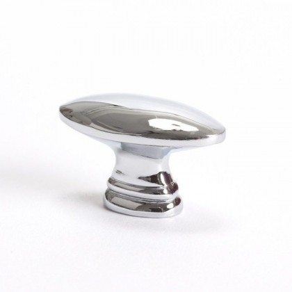 Advantage Plus Polished Chrome Knob - 1 7/16""