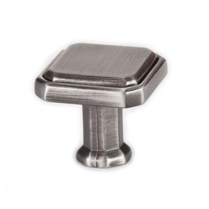 """Harmony Knob (Vintage Nickel) - 1-3/16"""""""