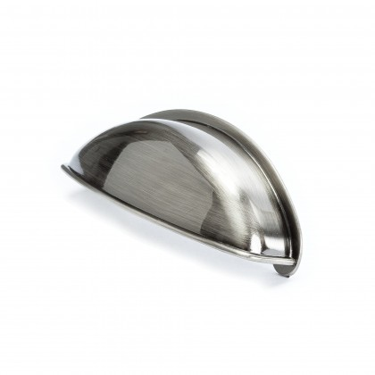 Euro Moderno Cup Pull (Brushed Black Nickel) - 64mm
